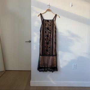 ASOS Lace Midi Dress